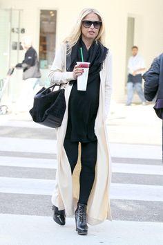 Rachel Zoes stellar maternity style