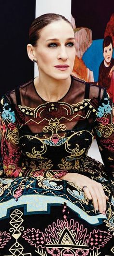Sarah Jessica Parker - always chic, love her style