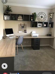 Mesa Home Office, Home Office Space, Home Office Desks, Office Decor, Ikea Office, Office Ideas, Loft Office, Office Furniture, Cool Furniture