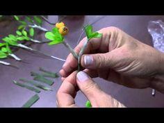 Mulher.com - 31/07/2015 – Bonsai mame em biscuit – Alessandra Assi - PT1 - YouTube