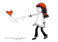 """Receta para que el día de los enamorados de la vida <3 """"Recoge una hoja de árbol que tenga una forma similar a la de tú corazón. Cuando sople un poco de aire, tírala con mucha fuerza hacia arrib…"""