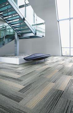 Interface | Modular Carpet Tile | Silver Linings | SL930 Grey Fade