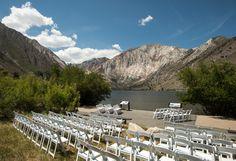 Convict Lake, Calif. - California outdoor wedding venue outside Mammoth Lakes