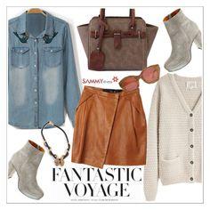 """Fantastic voyage"" by teoecar ❤ liked on Polyvore featuring H&M, La Garçonne Moderne, Madewell, Karen Walker, women's clothing, women, female, woman, misses and juniors"