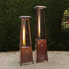 Make your patio a living space year-round with outdoor heaters from Frontgate. Shop propane heaters, infrared heat lamps and more to warm any area. Pool Heater, Patio Heater, Luxury Home Decor, Luxury Homes, Outdoor Fire, Outdoor Decor, Outdoor Areas, Outdoor Living, Garden Yard Ideas