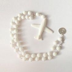 Plane'n'love. Necklace  #porcelain #porcelainjewelry #rocknheartporcelain #white #фарфор