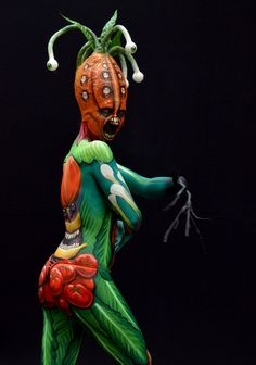Yikes! 16th World Bodypainting Festival