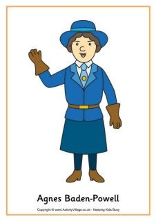 Agnes Baden-Powell Agnes Baden-Powell was Robert Baden-Powell's sister. She was a very accomplished and educated woman...