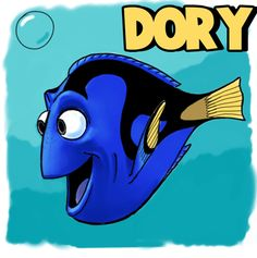Today we will show you how to draw Dory (the funny forgetful fish) from the Disney Pixar movie called 'Finding Nemo'. We will guide you through drawing Dory in step by step, easy-to-follow, instructions.