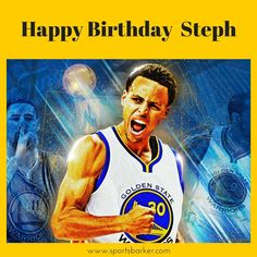 Happy Birthday #StephenCurry @sportsbarker #nba #warriors