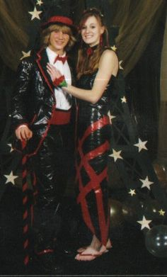 Duct tape - prom 2006
