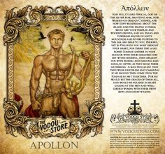 7-Day Candle Label - Apollo Mythological Creatures, Mythical Creatures, Tarot Decks, Apollo Greek, Roman Gods, Greek Gods And Goddesses, Great Works Of Art, Legends And Myths, Rainbow Art