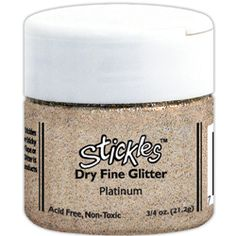 Stickles: Dry Glitter (24) colors available