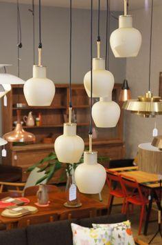 Danish Glass Pendants