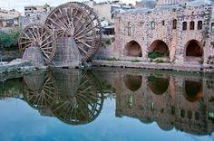 Waterwheels - Dead cities
