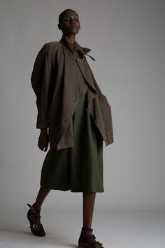 Vintage Issey Miyake Coat and Dress Designer Vintage Clothing Minimal Fashion