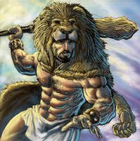 Greek Mythology: The great Hercules during his trials Hercules Mythology, Greek Mythology Art, World Mythology, Nemean Lion, Greek Warrior, Roman Gods, Roman History, Sword And Sorcery, Fantasy Character Design