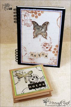 Meresanth Krafts: Owadzie notesy / Insect notepads