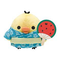 Rilakkuma Rilakkuma summer vacation theme of collected stuffed Kiiroitori