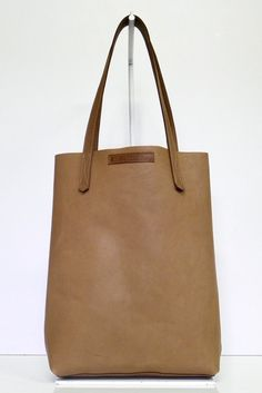 #18 Tote Bag / Tobacco #leather