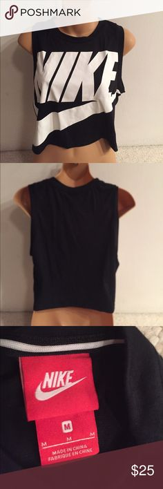 NWT Nike muscle mid-tank NWT sexy short muscle mid-tank Nike Tops Muscle Tees