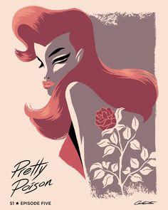 "Batman: The Animated Series Episode 5 ""Pretty Poison"" - George Caltsoudas"