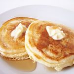 Banana Pancakes All of the years spent eating flour and sugary pancakes could have been replaced with protein and potassium. They taste great plain, but you can also add sugar-free syrup. Calories - 458.4 Carbohydrates - 29.7g Fat - 6g Protein - 31.8g Sodium - 341.4mg