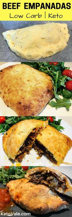 Low Carb Keto Friendly Beef Empanadas Using Coconut Flour, Just like the hot pockets!