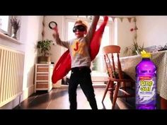 "Pine-Sol Presents: ""Superhero"" - YouTube"