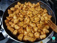 Receta de Pollo agridulce a la naranja - Paso 10 Kung Pao Chicken, Meat, Ethnic Recipes, Food, Marinated Chicken, Diced Chicken, Fried Chicken, Mop Sauce, Sweet N Sour Chicken