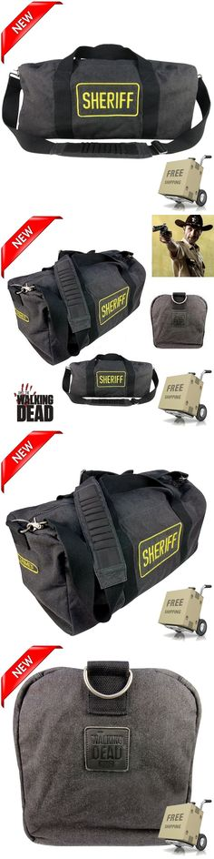 Bags and Pouches 175641: Official Costume Accessory The Walking Dead Rick Grimes Sheriff Replica Bag New -> BUY IT NOW ONLY: $104.1 on eBay!