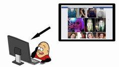 Le nouvel outil de recherche sur Facebook expliqué en patates par Vidberg #video #graphsearch
