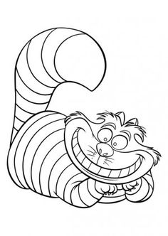 Alice in wonderland coloring book - 39 best images | Coloring pages ...