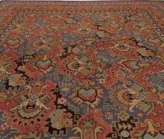 Stylistically vintage rugs have the same appeal as vintage furniture. They are clearly defined by the 20th century and by the celebration of new ideas and values for a modern lifestyle. Fine art and fine craftsmanship are the main components of vintage design.