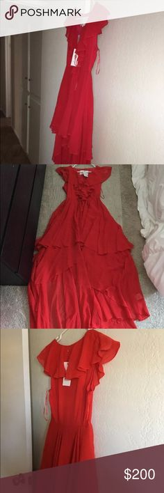 Selling this Free People Goddess in Rome Hi Low dress on Poshmark! My username is: dc207. #shopmycloset #poshmark #fashion #shopping #style #forsale #Free People #Dresses & Skirts
