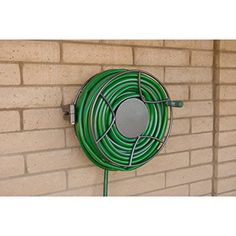 Garden Treasures Steel 100 Ft Wall Mount Hose Reel I Just Had A Friend  Install 2 Of These Inside My Garage. Every Winter I Bring In My Garden Hoseu2026