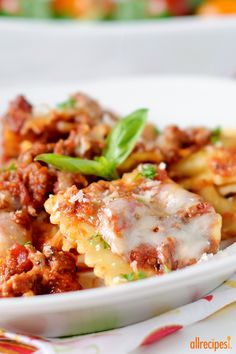 """Randy's Slow Cooker Ravioli Lasagna 