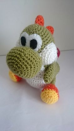 Knitting Pattern For Yoshi Toy : Toys to make on Pinterest Amigurumi, Amigurumi Patterns and Crochet Dolls