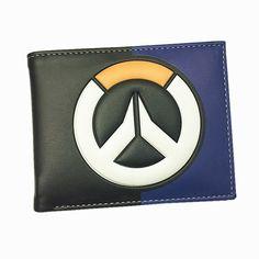ブリザードゲームoverwatch/マーベル/東京グール3d財布トレーサー刈り取りow財布billetera用ティーンエイジャーレザーマネーバッグ