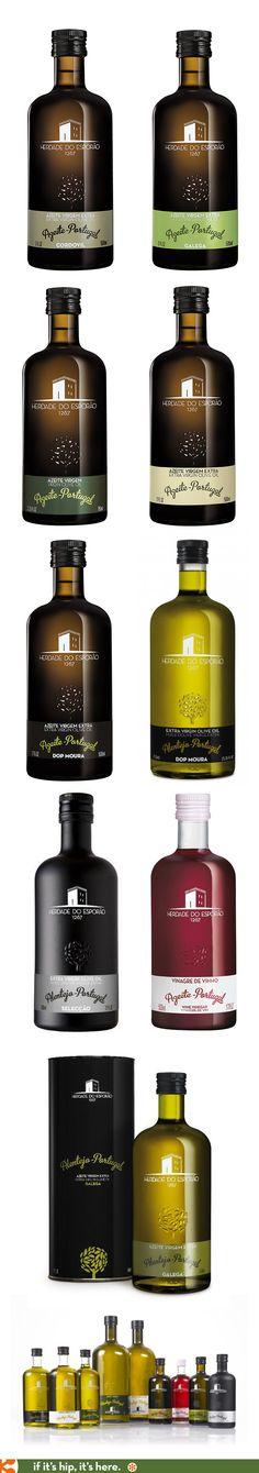 Esporão's Oilve Oils and Vinegar from Portugal.