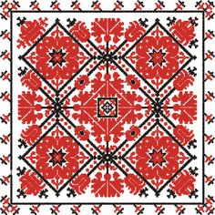 Google Image Result for http://www.stitchstitch.info/a/patroon%2520vande%2520week/1%2520vierkant%2520hongaarse%2520motieven.gif: Hungarian Motif