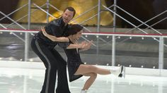 Watch Willie and Meryl Davis take on Tamron and Charlie White on the ice