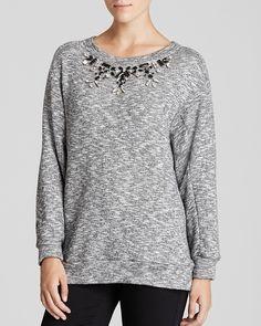 Dylan Gray Embellished Sweatshirt on shopstyle.com