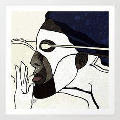 Captain Marvel Art Print by Dawlism - $17.68