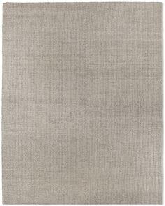 Braided Felt Rug - Grey