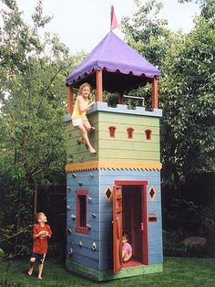 Barbara Butler Extraordinary Play Structures For Kids  Hideaway Fort