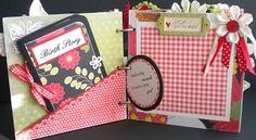 Lake Avenue Designs by Marla Venette: Custom Mini Album - Baby