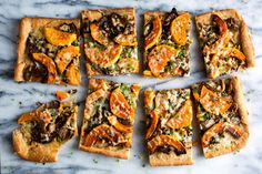 Roasted Mushroom and Butternut Squash Tart- NYT Cooking