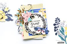 Book of Memories for Mom (Crate Paper) Mini Albums, Mini Scrapbook Albums, Scrapbook Paper, Scrapbook Layouts, I Love My Hubby, Crate Paper, Mini Books, Flip Books, Scrapbooking