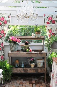 15 ideas para tener tu rincn para jardinera  Decoracion